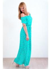 00141 Платье из французского шифона