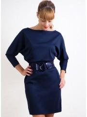 00237 Платье Лакоста темно-синее