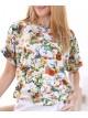 00124 Блуза из вискозы Пикассо