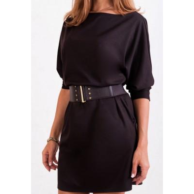 00216 Платье коричневое Лакоста